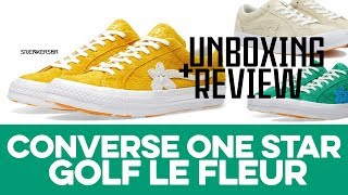UNBOXING+REVIEW - Converse X Tyler, The Creator - One Star Golf Le Fleur