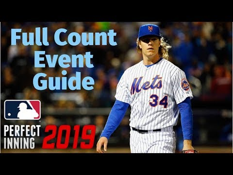 MLB PERFECT INNING 2019 - FULL COUNT EVENT GUIDE - GREAT FOR BOOSTING!