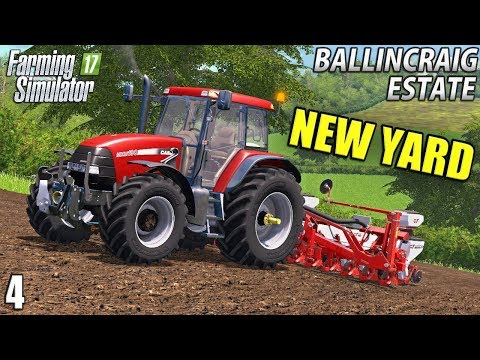 NEW YARD AND TRACTOR | Ballincraig Estate - Episode 4