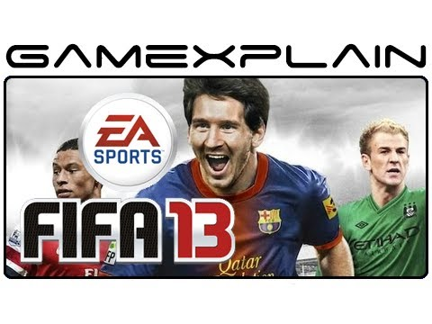Soccer Game - http://www.GameXplain.com We take a look at how FIFA 13 plays on the Wii U in this 45-minute look at the game! • Follow GameXplain on... ...Facebook: http://...