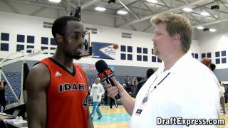 DraftExpress Exclusive - Cedric Jackson Interview at the 2011 D-League Showcase