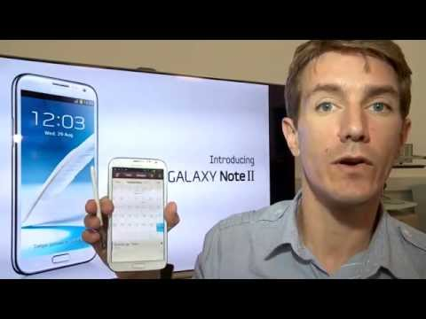 Unboxing Samsung Galaxy Note II  2012