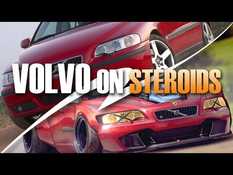 Volvo S60R On Steroids [Commissioned Work] ★ Timelapse [Digital Rendering]