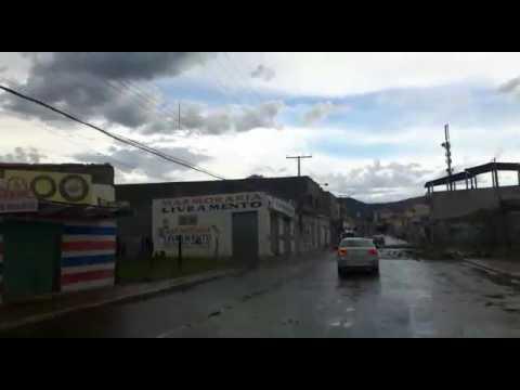 Vendaval causa destruição em Livramento   Bahia
