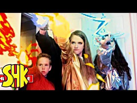 SuperPower Rings Origin Story! SHK HeroForce Full Movie Compilation | SuperHeroKids