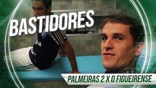 Os bastidores da vitória do Palmeiras sobre o Figueirense por 2 x 0, pelo returno do Campeonato Brasileiro 2015.