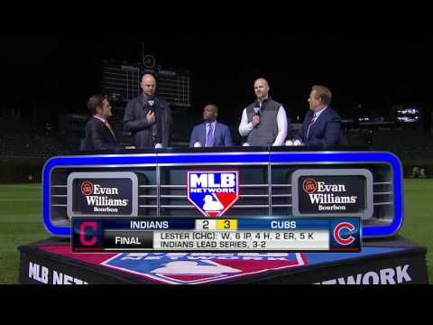 Video: Jon Lester and David Ross on MLB Tonight