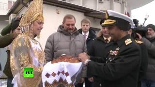 В Новороссийск прибыл пакистанский боевой фрегат