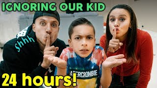 Video IGNORING Our KID For 24 HOURS!! **GONE WRONG** | The Royalty Family MP3, 3GP, MP4, WEBM, AVI, FLV Januari 2019