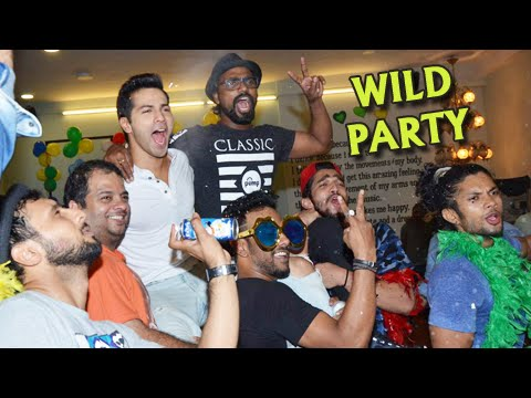 SPOTTED! ABCD 2 Cast's Wild Party | Varun Dhawan,