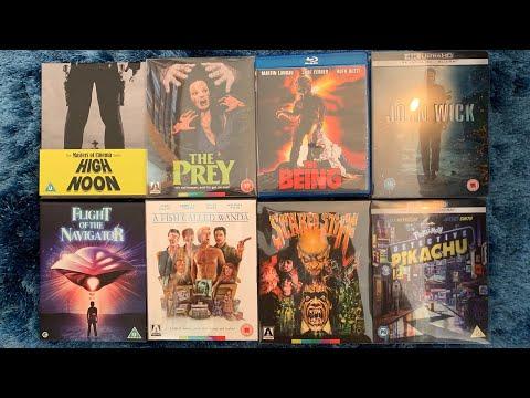 September 2019 Blu Ray/ 4K collection update. 19 titles, Steelbooks, eureka, Arrow, criterion etc.