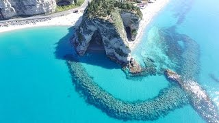 Tropea Italy  city photos gallery : Tropea Beach - Calabria - Italy 2016 - 4K