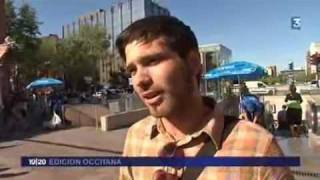 Jornalet occitan de France3 del 1èr de Mai de 2010 Lo collectiu Tisseòc demanda l'amelioracon del bilingüisme dins lo mètro de Tolosa.