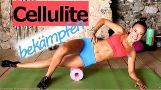 Cellulite bekämpfen - Workout - Blackroll Übungen - Schöne Beine - Foamrolling - Faszientraining