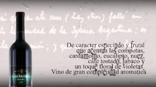 Download Lagu Ficha técnica Casa Madero Malbec Mp3