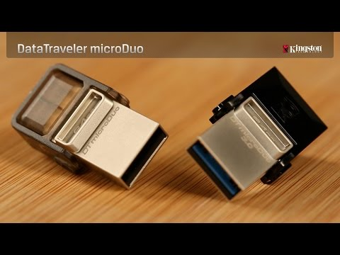 KINGSTON Micro Duo USB 2.0 Flash Drive OTG 8GB Pendrive
