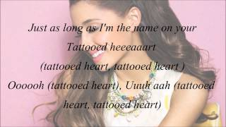 Video Ariana Grande - Tattooed Heart (with Lyrics) MP3, 3GP, MP4, WEBM, AVI, FLV November 2018