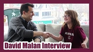 Harvard CS50 Professor David Malan Interview!  Day 1353 | ActOutGames