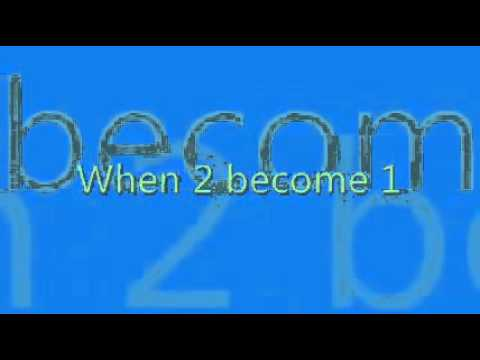 YouTube - Spice Girls - 2 Become 1 WITH LYRICS (Made By Sophie Bendtsen).flv