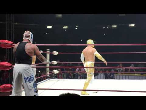 LXN Xtremania XIII Rey Mysterio and Negro vs Místico and Rey Guepardo