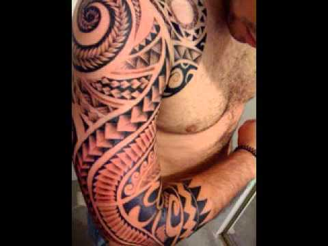 Tribal tattoos for men on shoulder