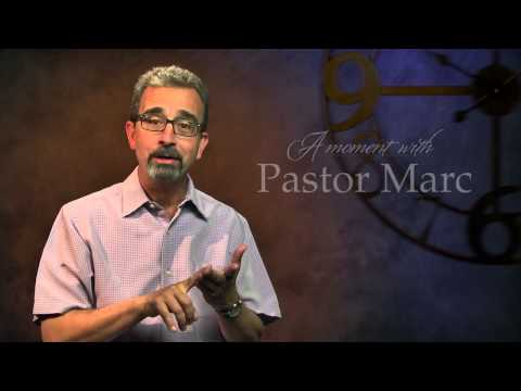 "A Moment with Pastor Marc #8<br /><strong>""Don't Give Up!""</strong>"