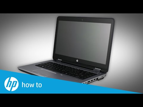 Removing and Replacing the Bottom Cover on HP Probook 640 and 645 G2 Notebooks