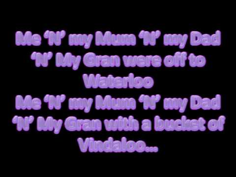 Vindaloo Lyrics