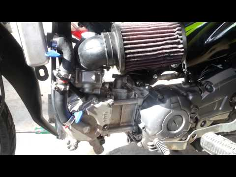 Sirius modify cylinder + head 4 valve Exciter by HKN SHOP