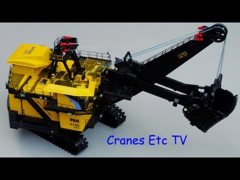 p&h - This is the Cranes Etc TV review of TWH's 1/50 scale model of the P&H 4100XPC Mining Shovel. The model number is 063. The full review with photos is on the C...