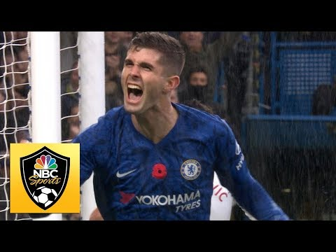 Pulisic heads home to double Chelsea's lead v. Crystal Palace | Premier League | NBC Sports