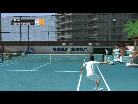 Virtua Tennis 2009 HD gameplay
