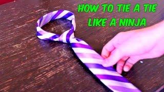 Download Lagu How to Tie a Tie Like a Ninja Mp3