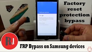 Video How to bypass Factory Reset Protection on Samsung devices MP3, 3GP, MP4, WEBM, AVI, FLV Juni 2019