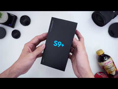 UNBOXING SAMSUNG GALAXY S9+ INDONESIA!