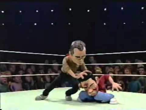 Celebrity Deathmatch -   Bill Murray vs. Chris Kattan