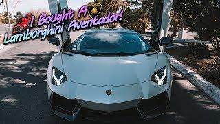 I Bought A $500,000 Lamborghini Aventador!