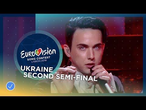 MELOVIN - Under The Ladder - Ukraine - LIVE - Second Semi-Final - Eurovision 2018 (видео)