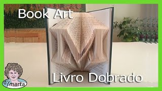 Folded Book Art using Photoshop. Arte feito de Paginas Dobradas. - YouTube