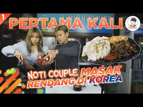 MASAK RENDANG🥩 DI KOREA🇰🇷bareng @Jeanette's World [5 National Foods Indonesia Challenge]