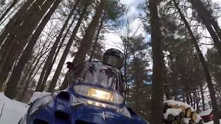 9. Polaris 120 Kid's Snowmobile