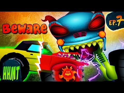 Beware Of The Ghost Vehicles | Haunted House Monster Truck
