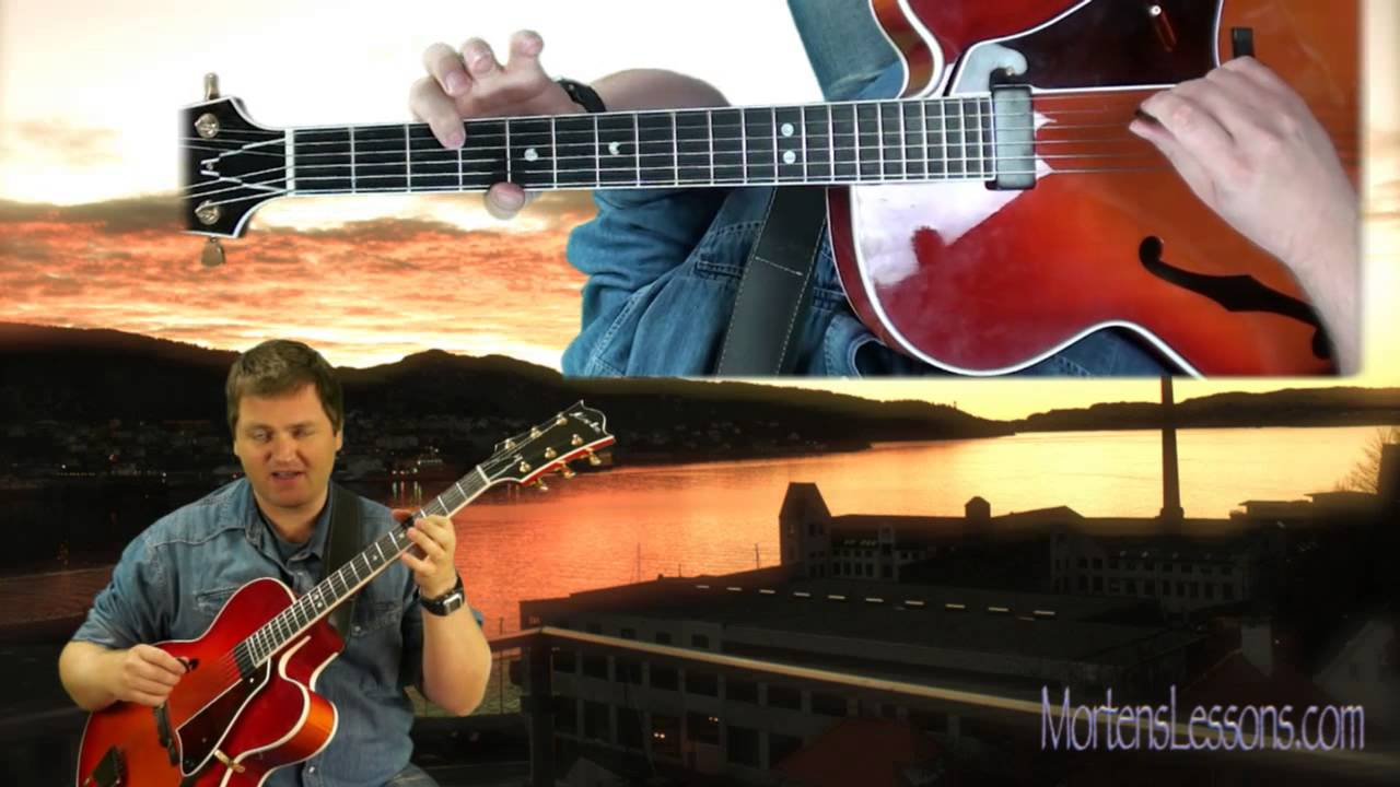 Jazz Guitar Scales – Locrian nat 9 – Learn to get a jazzy sound on minor 2-5-1 using this scale