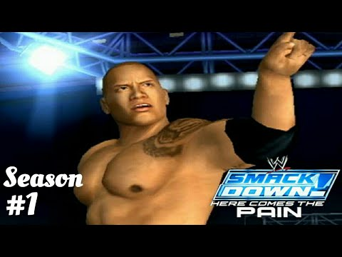 WWE Smack Down - Here comes the pain Tamil season mode #1