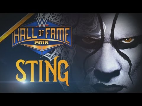 Download Video Sting Joins The WWE Hall Of Fame Class Of 2016: Raw, January 11, 2016