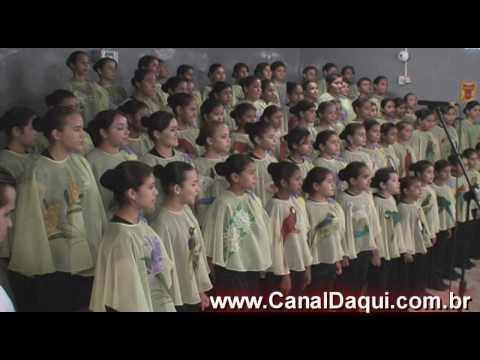 Coral das Meninas Cantoras - Homenagem PHDs - Porto Murtinho Only Harley 2010.wmv