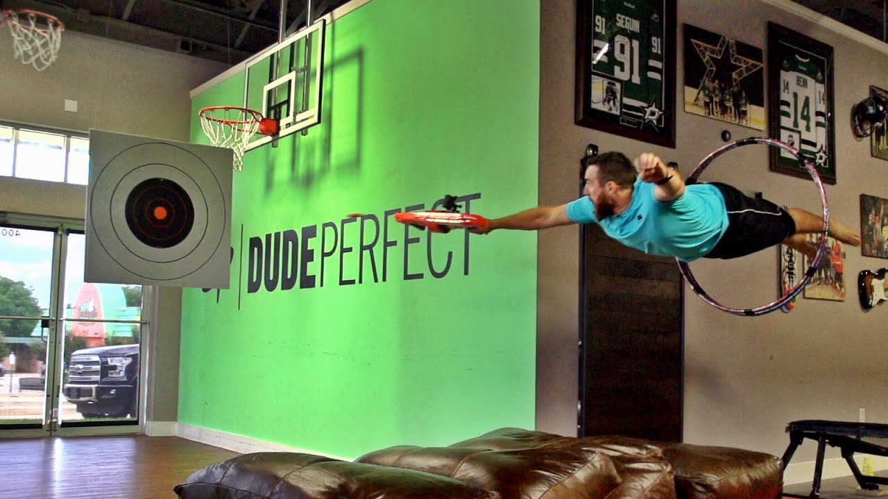 Nerf Blasters Battle   Dude Perfect