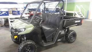 4. 2017 Can-Am Defender HD5 NCU450