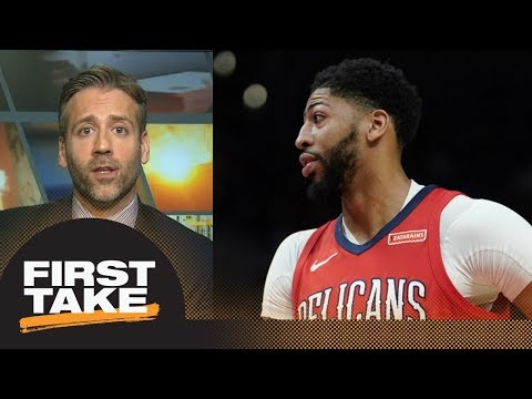 Max boldly predicts Anthony Davis will overtake LeBron James next season | First Take | ESPN