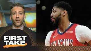 Max boldly predicts Anthony Davis will overtake LeBron James next season | First Take | ESPN